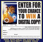 Enter to win a Digital HD and Blu-Ray Combo Pack of