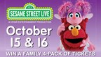 Win Sesame Street Live tickets!