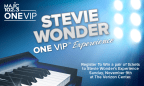 Stevie Wonder ONE VIP� Experience Giveaway