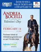 Win tickets to see Andrea Bocelli