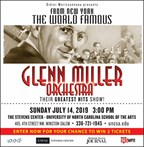 Win 2 Tickets to the Glenn Miller Orchestra
