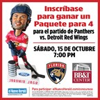 ENH-Florida Panthers 10/15 Latin Night