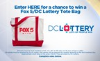 DC LOTTERY DAILY TOTE BAG GIVEAWAY