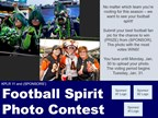 Football Spirit Photo Contest