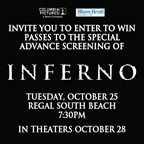 Inferno Movie Premier