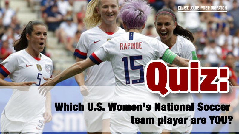 Which U.S. Women's National Soccer team player are YOU?