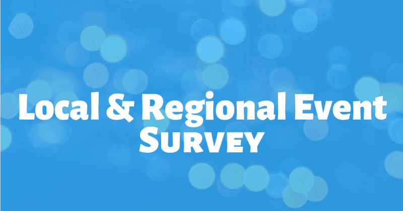 Local and Regional Event Audience Survey