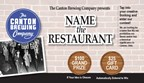 Name that restaurant sweepstakes