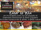 Edelweiss Restaurant & Beer Garden 20 Person Party