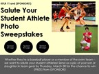 Salute Your Student Athlete Photo Sweepstakes