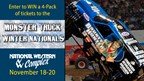 Enter to WIN a 4- Pack of tickets to the Monster Truck Winter Nationals!