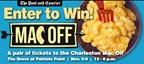 Win Tickets to the Charleston Mac Off!