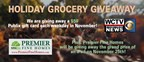 Premier Fine Homes Holiday Grocery Giveaway