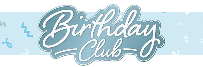 Birthday Club Sign-up Landing Page