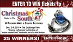 Win Tickets to Christmas Made in the South!