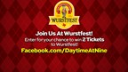Daytime @ Nine Wurstfest Ticket Giveaway