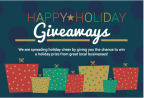 Happy Holiday Giveaways (Enter Sponsor 3 Name Here)