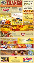 St. Clair Pacific Turkey Page Promo