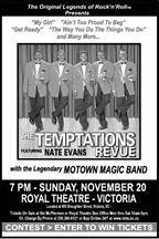 The Temptations Revue