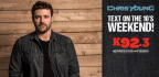 Win A Pair of Meet N' Greet Tickets to Chris Young