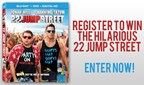 22 Jump Street DVD Giveaway