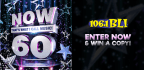 WIN A COPY OF NOW THAT�S WHAT I CALL MUSIC 60!
