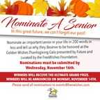 Nominate A Senior! - Presented By Freewishes Foundation