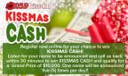 Kissmas Cash Giveaway