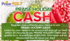 Praise Holiday Cash Giveaway