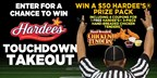 Hardee's Touchdown Takeout Contest
