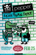 Pepper & Less Than Jake