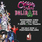 Win tickets to Cirque Dreams Holidaze