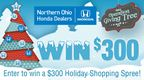 Northern Ohio Honda Dealers - $300 Shopping Spree