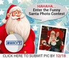 Photo with Santa Contest