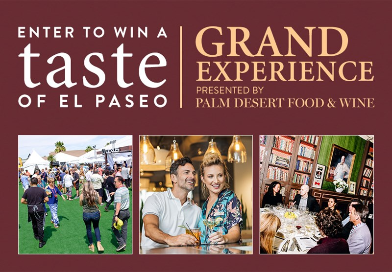 Taste of El Paseo Grand Experience
