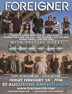Foreigner with special guest Kansas