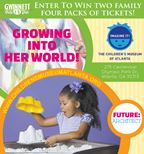 Win a 4-pack of tickets to Children's Museum of At