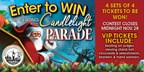 Mission Candlelight Parade Win Tickets