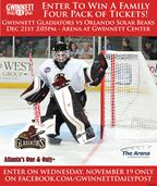 Win Gwinnett Gladiators tickets
