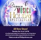 Win tickets to Cirque Musica Holiday Spectacular