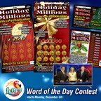 Holiday Millions Word of the Day