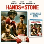 Hands of Stone on Blu Ray