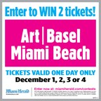MH- Art Basel Tickets Contest