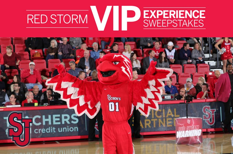 2020 St. John's VIP Ticket Sweepstakes Sweeps 1