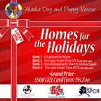 Alaska Dog and Puppy Rescue's Homes For The Holidays Giveaway