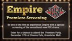 Empire Premiere Party