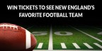 Win 2 Tickets to watch New England's Favorite Football Team