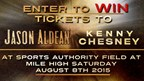 Enter to WIN tickets to see Kenny Chesney and Jaso