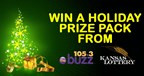Win a Holiday Prize Pack from The Kansas Lottery