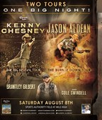 Chesney/Aldean Tour